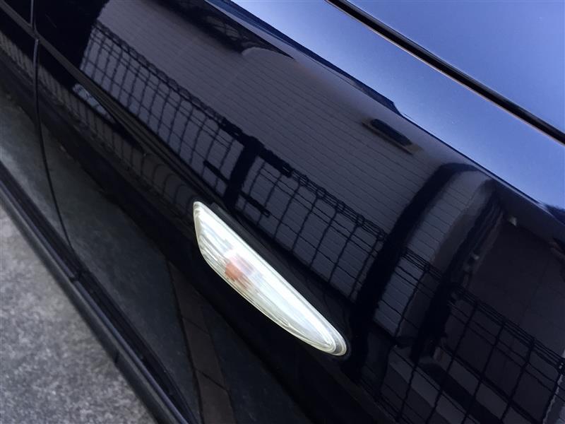 E46サイドマーカー磨き