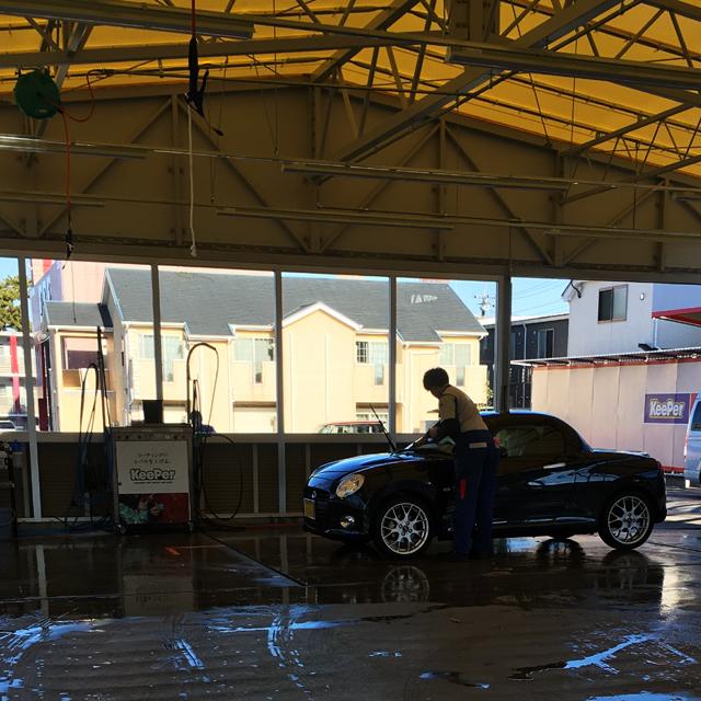 KeePerLABO『フッ素ガラスコーティング』『ルーフのシミ取り+再コーティング』『ミネラル取り』