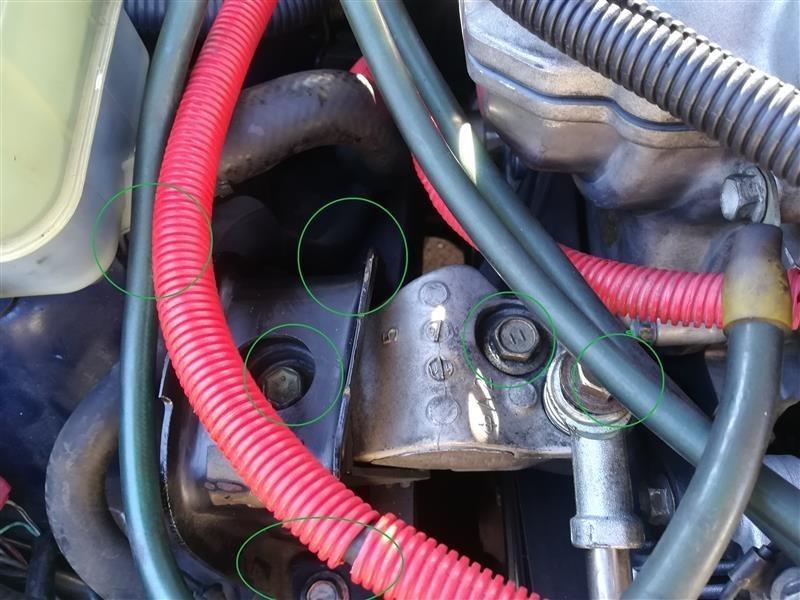 エンジンマウント運転席側交換 12305-22051