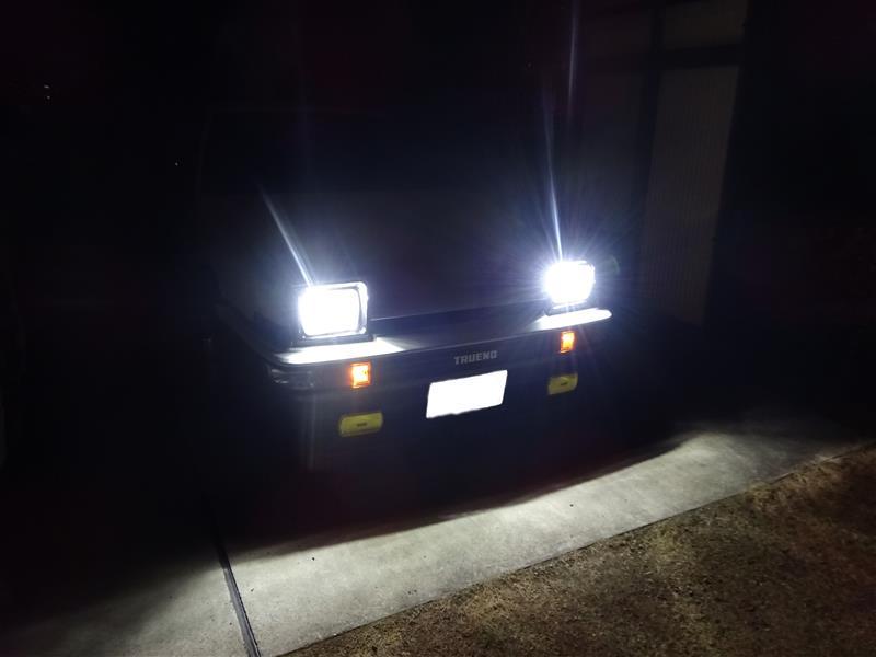 LED 夜になって