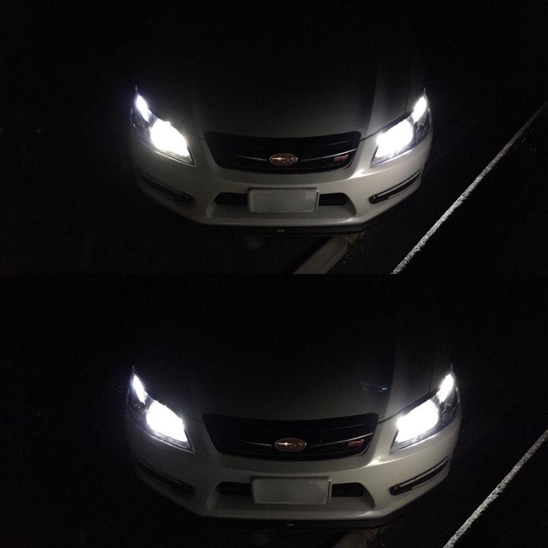 HIDヘッドライト交換