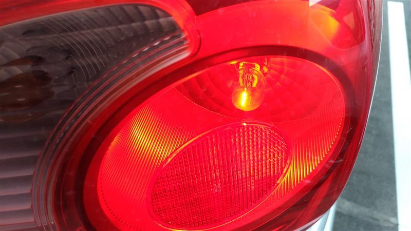 テール、ブレーキランプ LED化