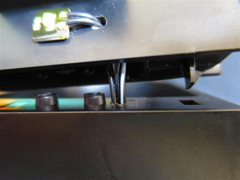 (161113)センターコンソールのドリンクホルダーにLED追加・・・②