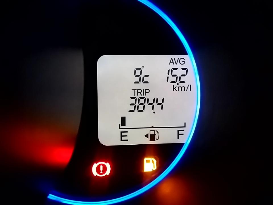 平成29年12月01日の燃費記録