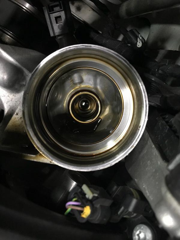 62800km エンジンオイルフィルター交換
