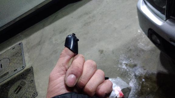 吸気温度センサー交換