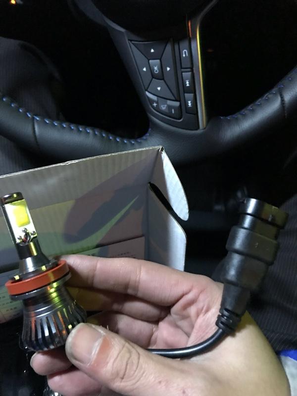 フォグランプ LEDバルブ交換