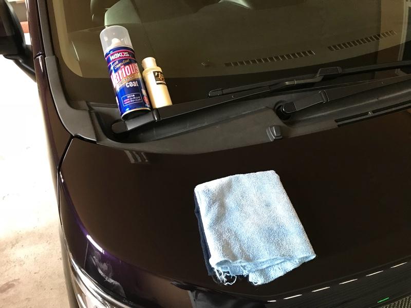 洗車とコーティングといろんな手入れ