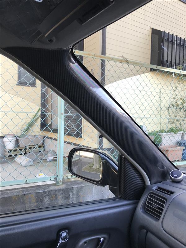 ピラー 5Dカーボンシート