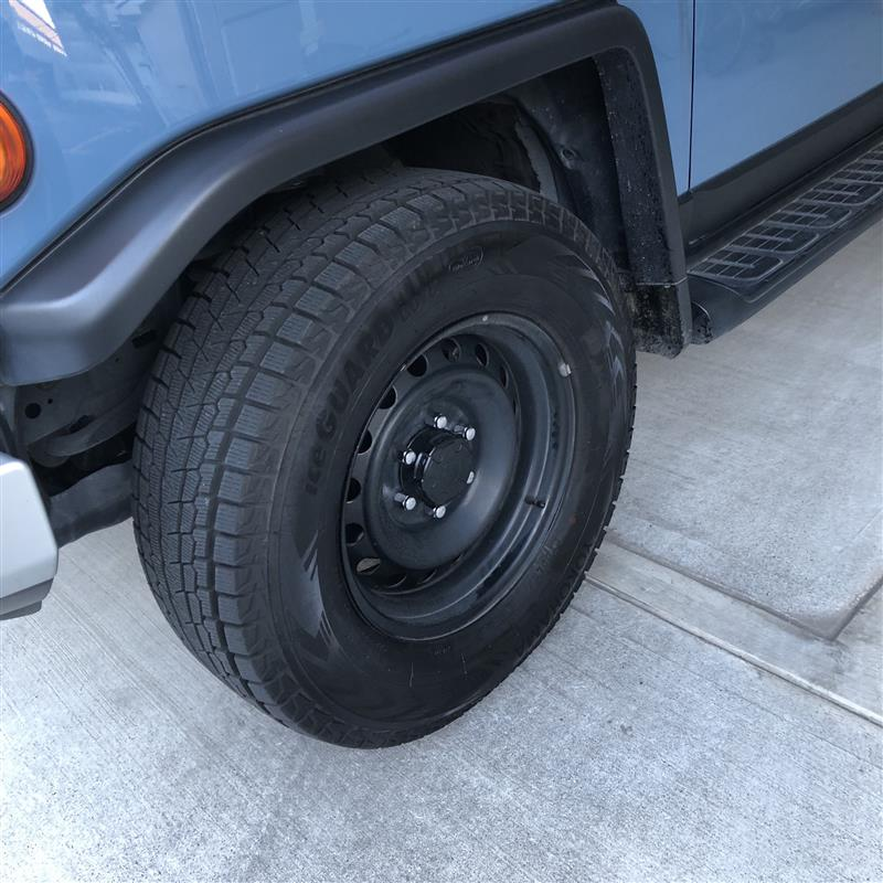 タイヤ履き替えで忘れ物。