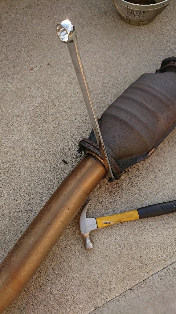 排気漏れ修理5