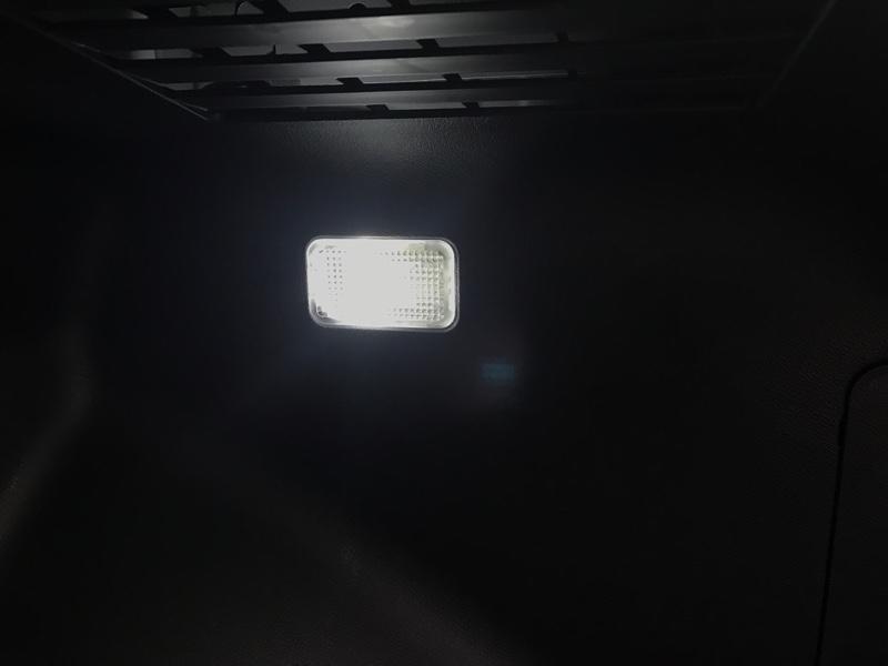 灰皿電球をLEDに交換