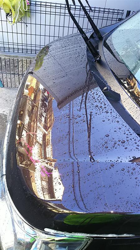 寒い中の洗車😅