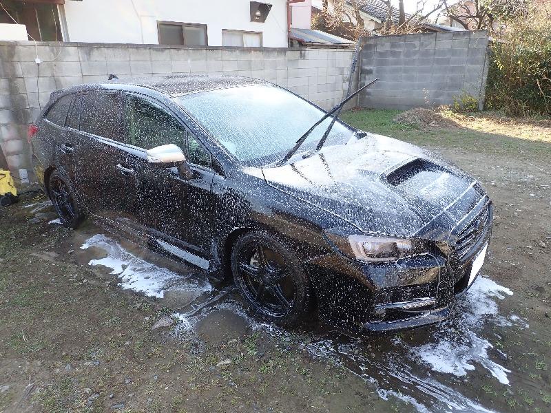 洗車2017年12月23日