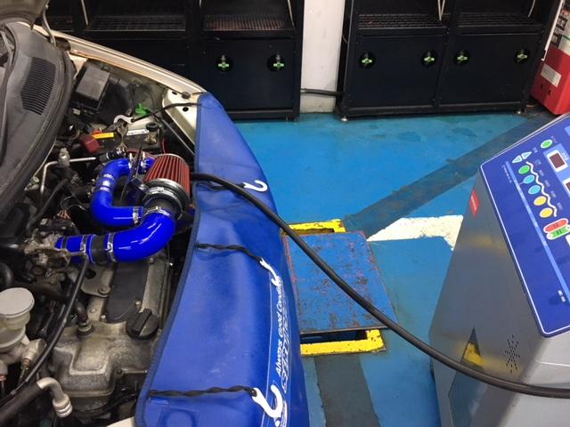ワゴンR MC22S K6A ATF交換