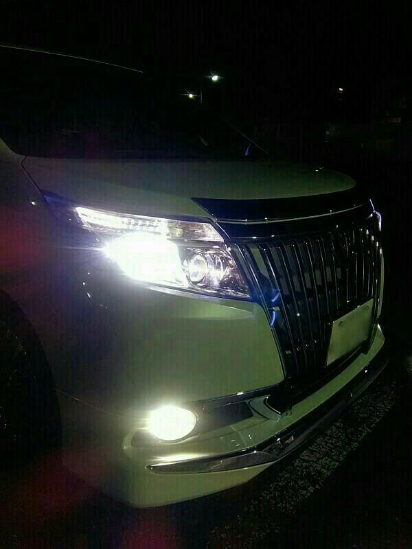 【fcl.】新型LEDヘッドライト交換(点灯編)