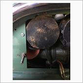 リレーボックス、ラジエターのサビ修理