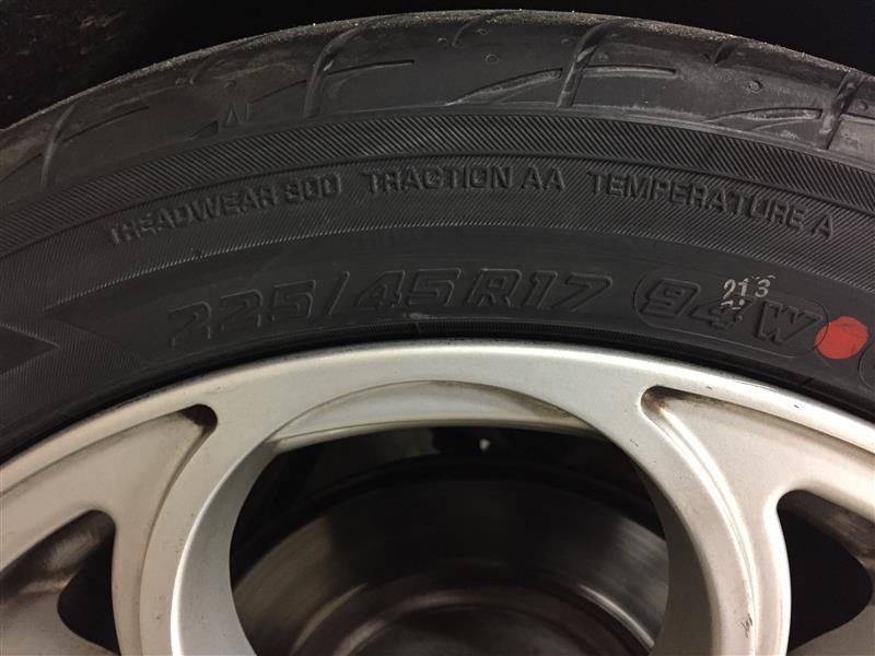 四輪タイヤ交換