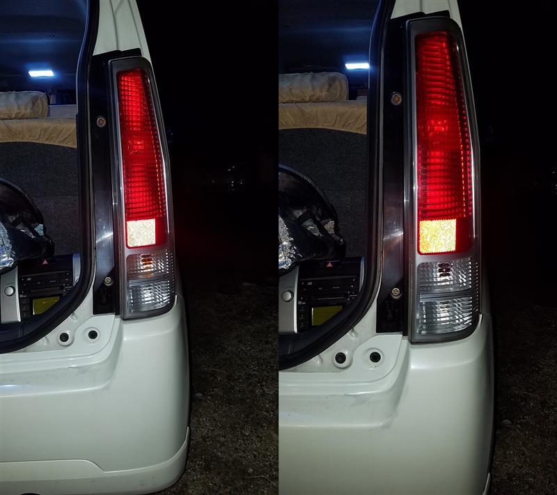 ブレーキランプLED化によるゴースト点灯対策