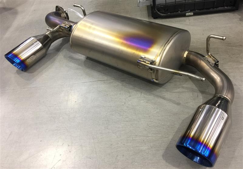 GANADOR フルチタン 排気漏れ対策 前編