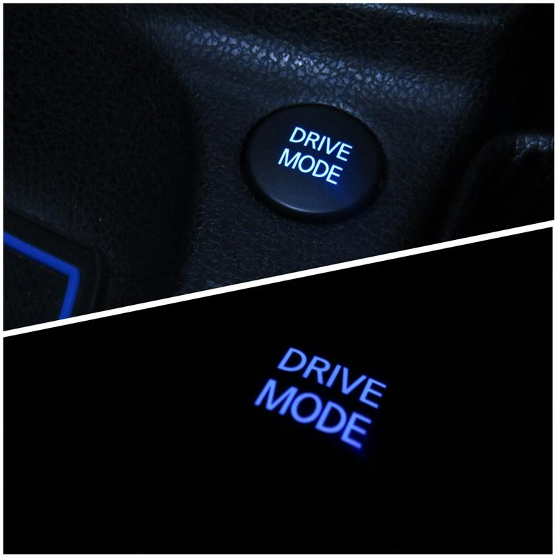 DRIVE MODEスイッチLED打ち替え