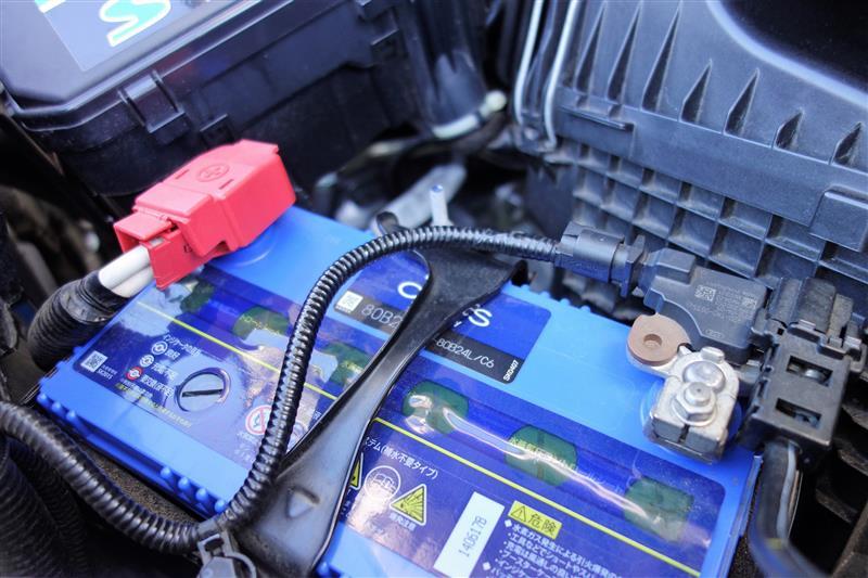 青いバッテリーへ交換(''◇'')ゞ
