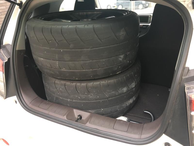 ⭕️夏タイヤ準備、新品タイヤ装着🚗✨タイヤ交換