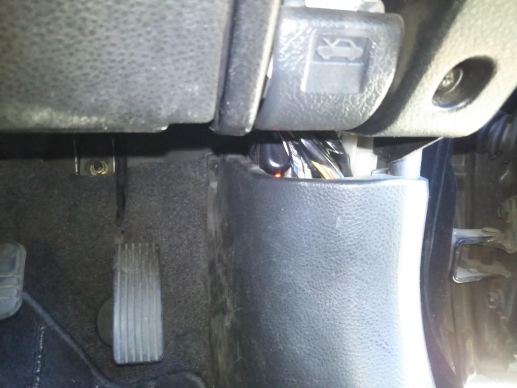 ドライブレコーダー取り付け 2