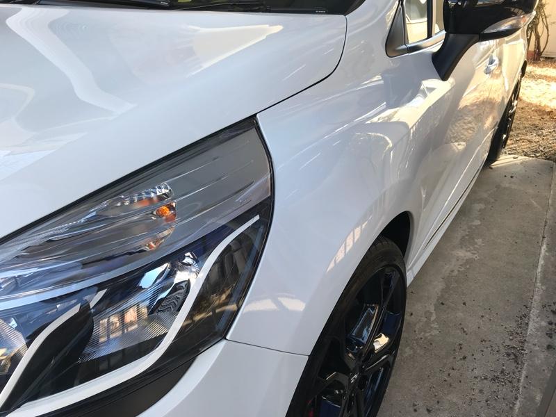 洗車(2018年-2回目)。