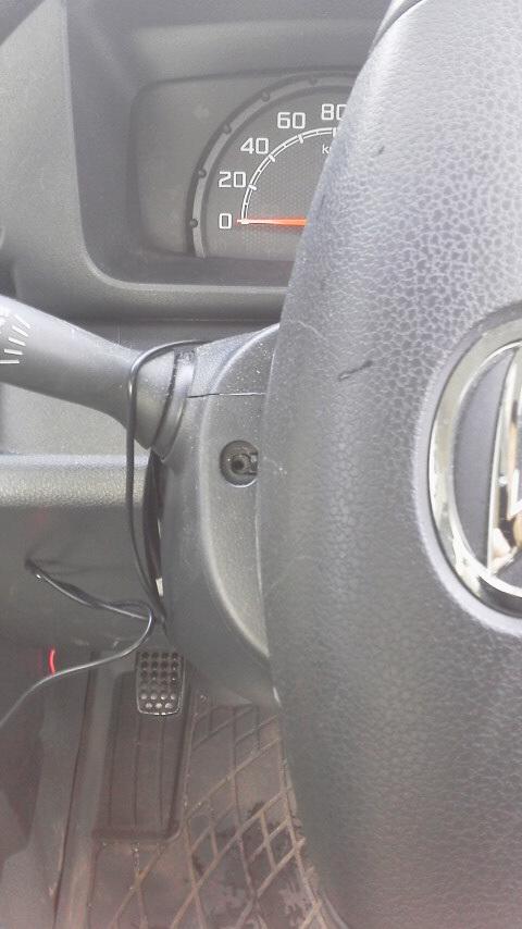 S510Pジャンボパワステを重ステに変更その1