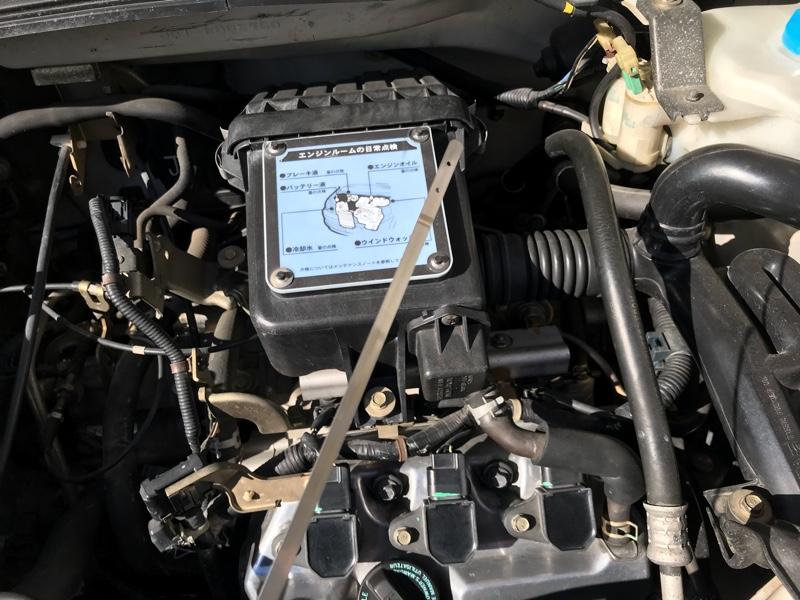エンジンオイルの交換