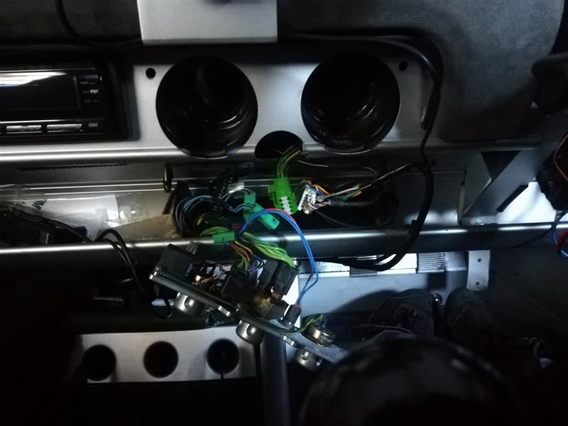 ELエアコンパネル修理