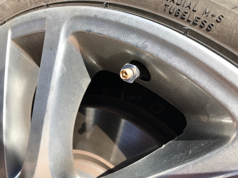 タイヤ空気圧監視システムの取り付け( *`ω´)