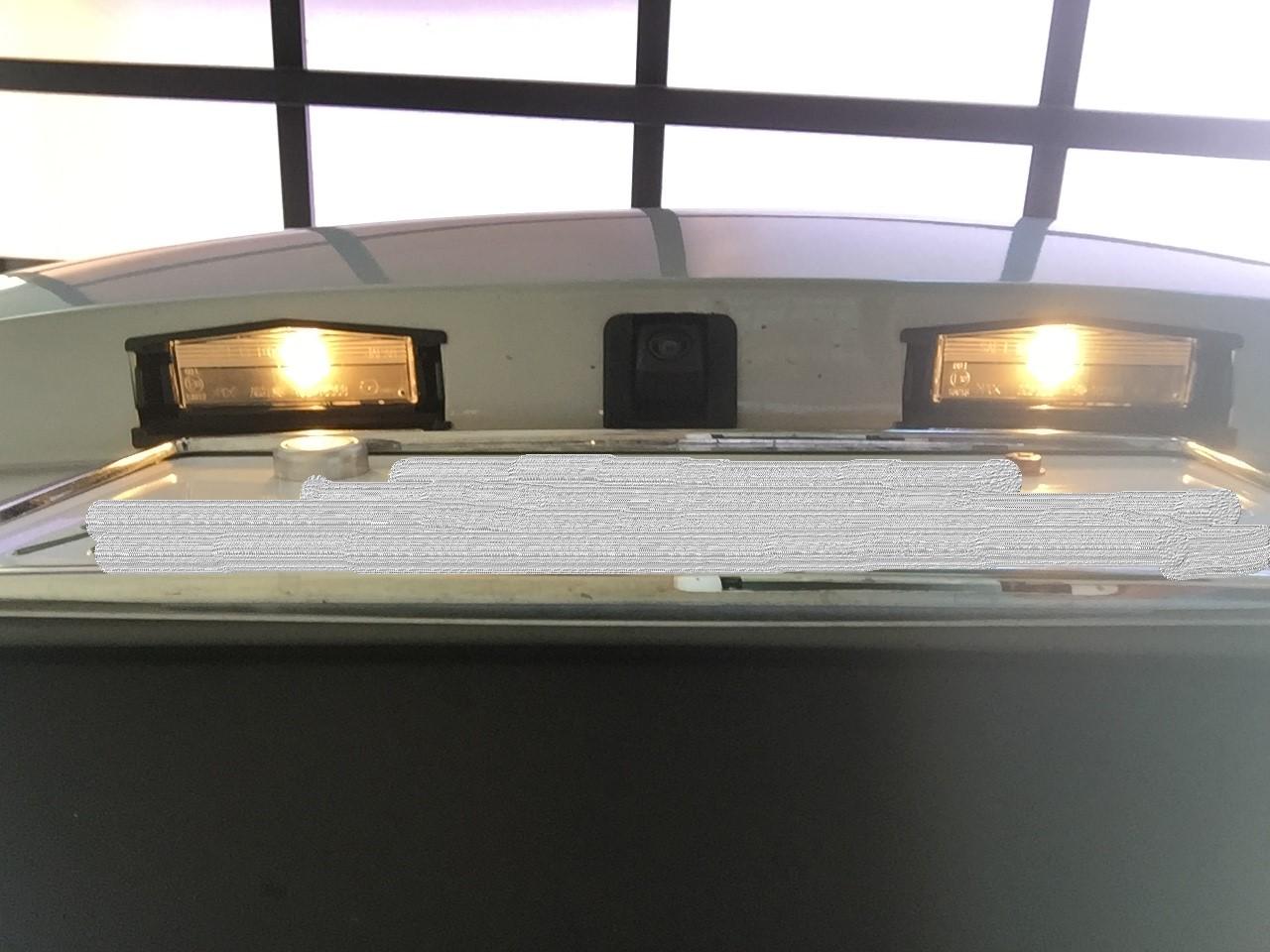 NDロドのナンバー燈LED化