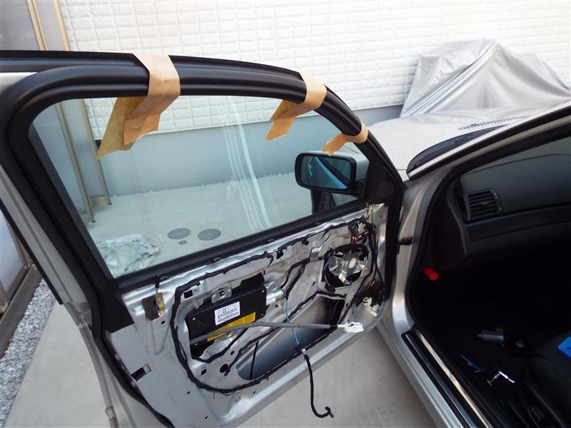 窓落ち修理③