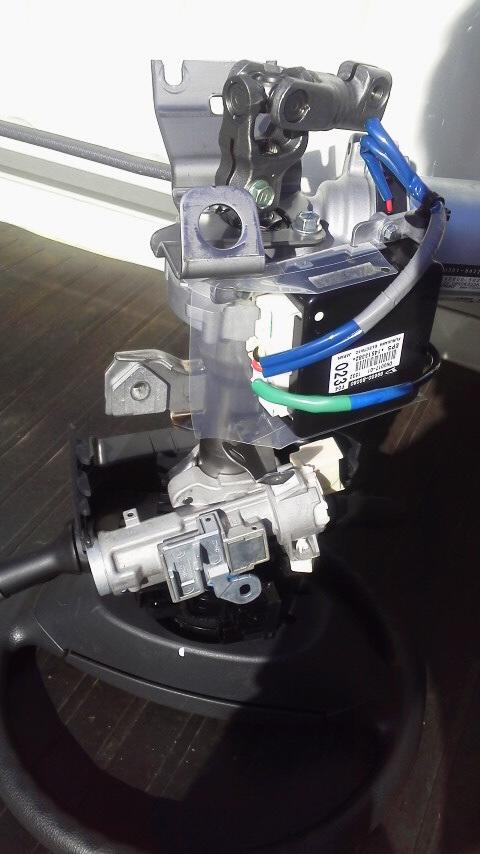 S510Pジャンボパワステを重ステに改造その2