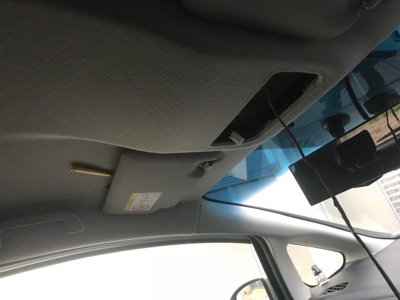 マップランプにドア連動で追加ランプ