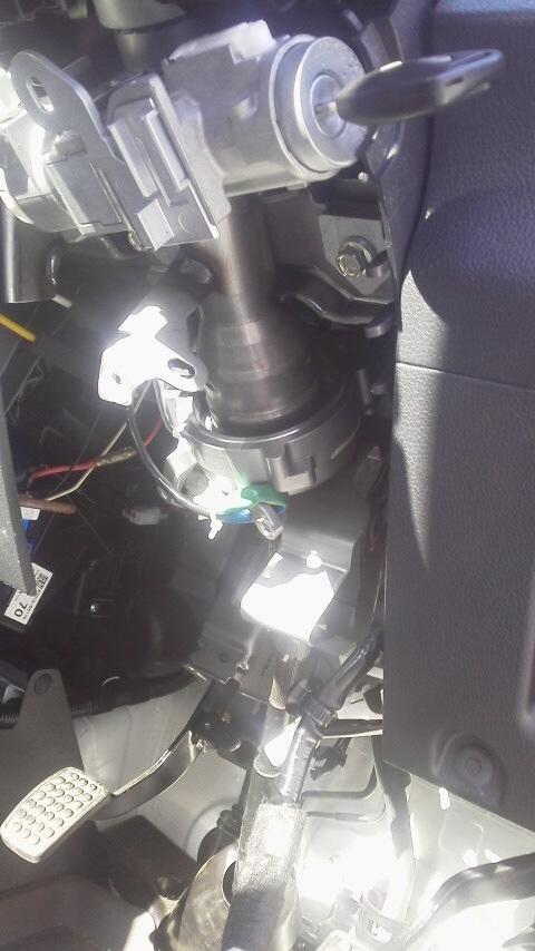 S510Pジャンボパワステを重ステに改造その4