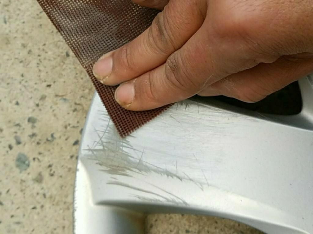 【塗装週間】カバーヌリヌリ ガリガリの巻