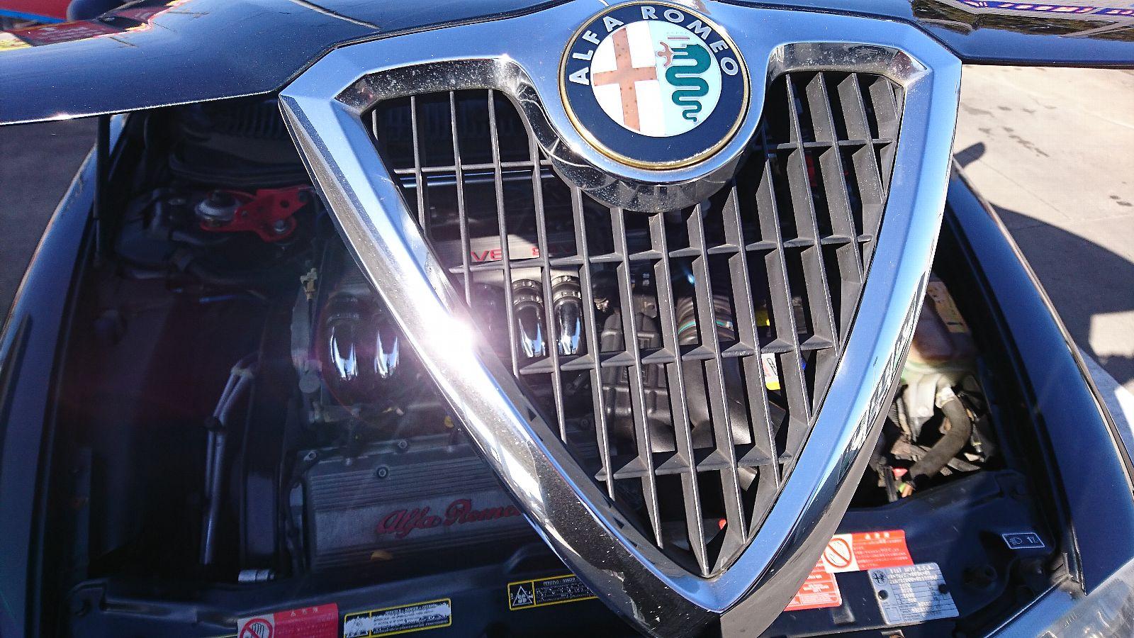 156V6 洗車