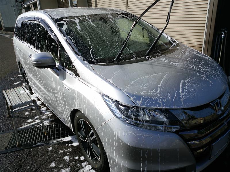 第31回洗車(洗い始め)
