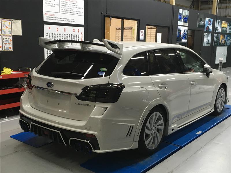 【レヴォーグ後期】東京オートサロン2018車輌制作