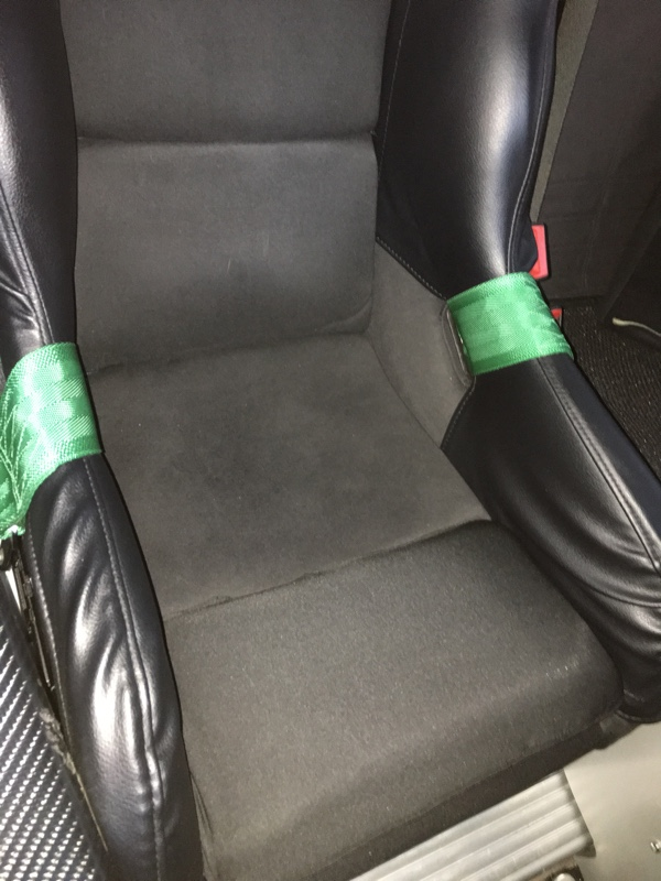 シート座面改良