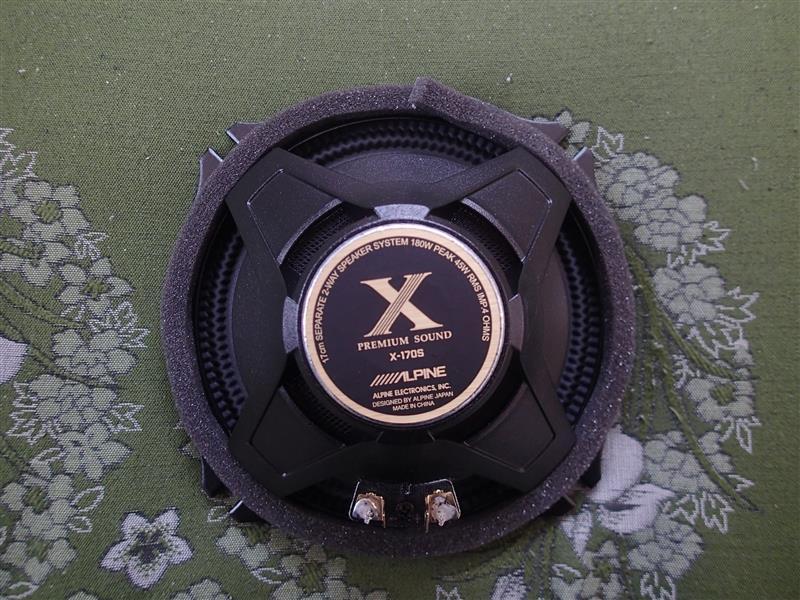 アルパインスピーカー X-170S♪