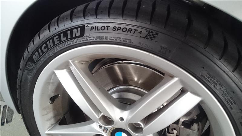 Michelin Pilot Sport 4 - 組み直し