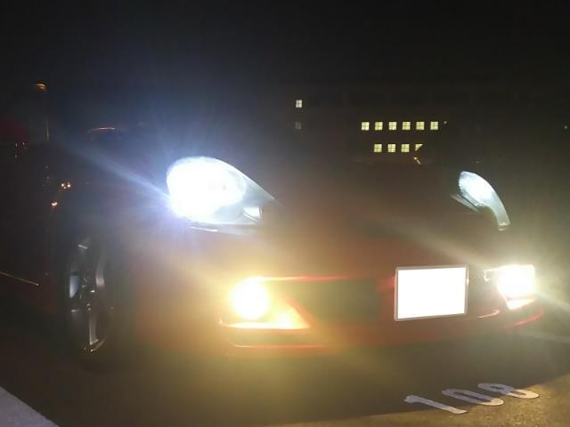 ポジションランプ交換(LED化)
