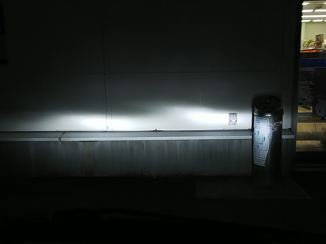LEDヘッドライトへ交換