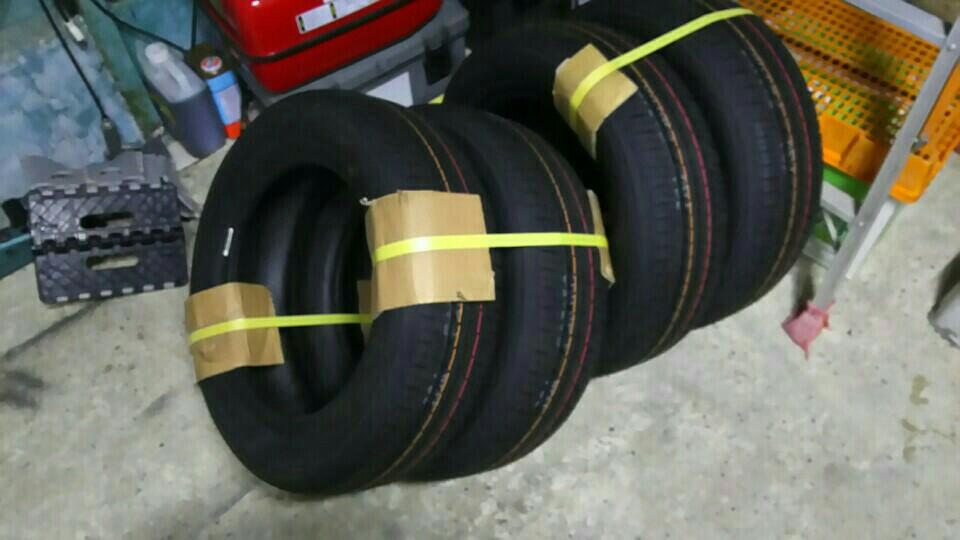 車検用タイヤ購入