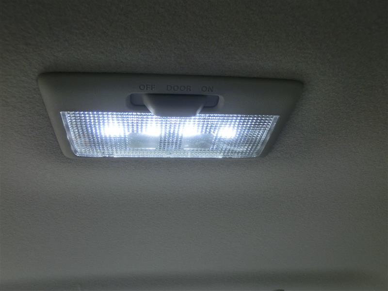 ルームランプ LED化(自作)