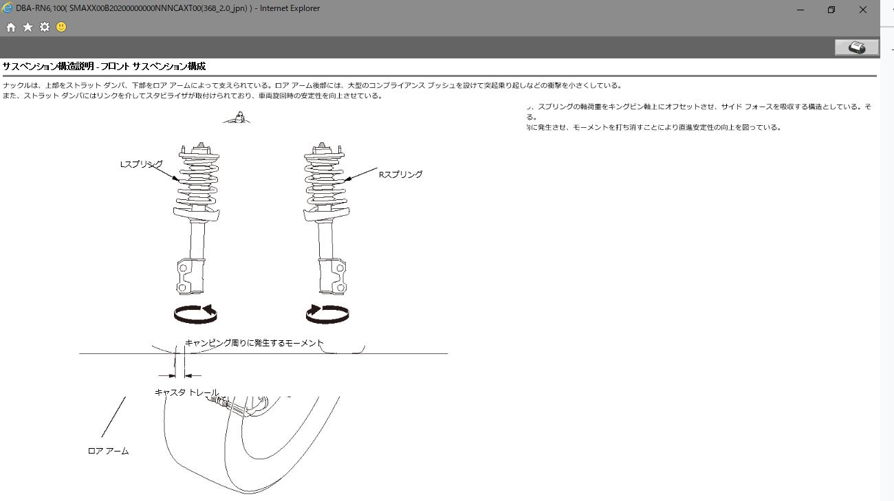 ホンダの型落ち車向け CD-ROMのサービスマニュアルを閲覧する3